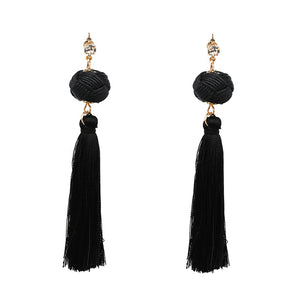 ROTE KNOT HANDMADE EARRINGS Accessories - Zia Clothing Company