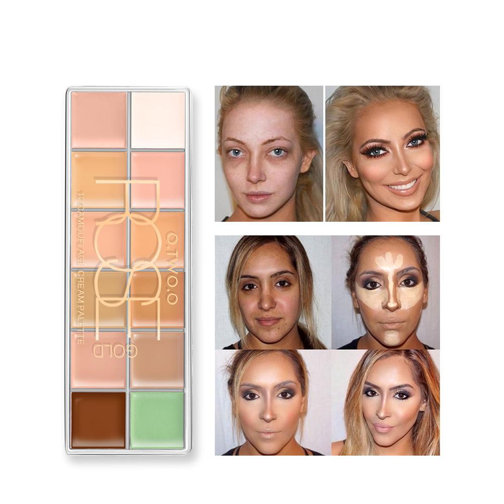 CAMOUFLAGE CONCEALER PALETTE MAKEUP - Zia Clothing Company