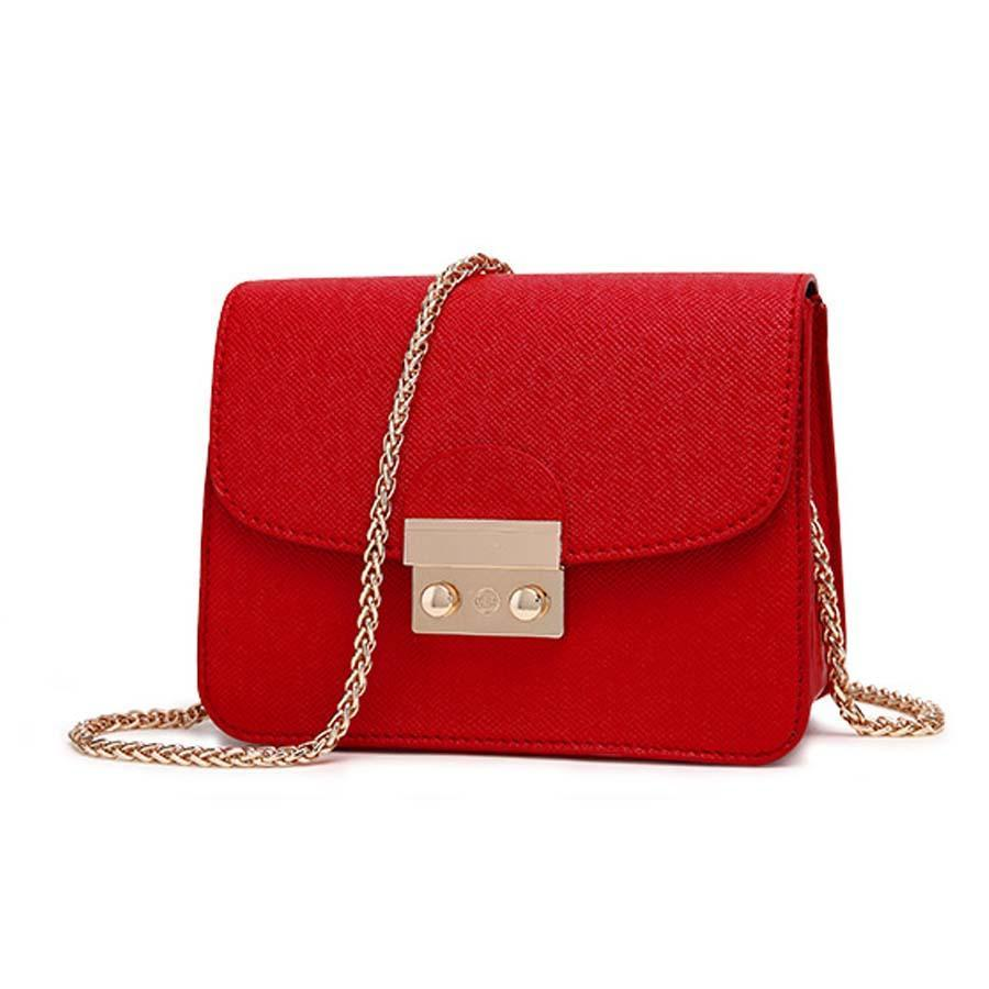 MINI HANDBAG WITH CHAIN Bag - Zia Clothing Company