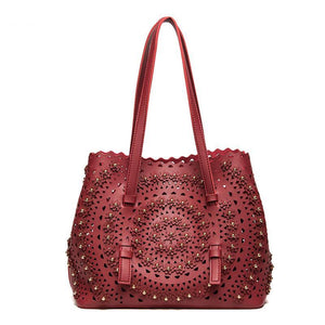 LUXURY HOLLOW SHOULDER BAG Bag - Zia Clothing Company