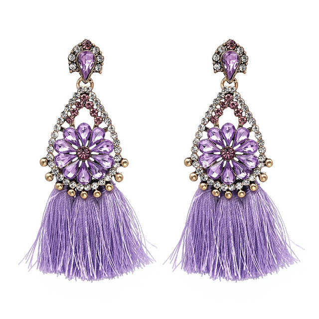ETHNIC VINTAGE EARRINGS Accessories - Zia Clothing Company