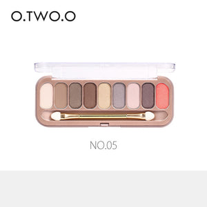 9 COLORS EYESHADOW PALETTE MAKEUP - Zia Clothing Company