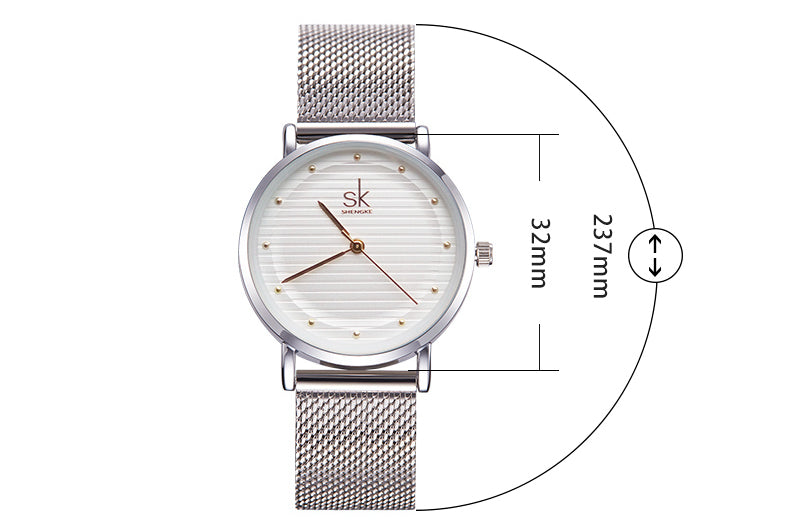 STAINLESS STEEL WATCH WATCH - Zia Clothing Company