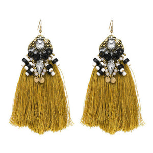 VINTAGE ETHNIC EARRINGS ANGELA Accessories - Zia Clothing Company