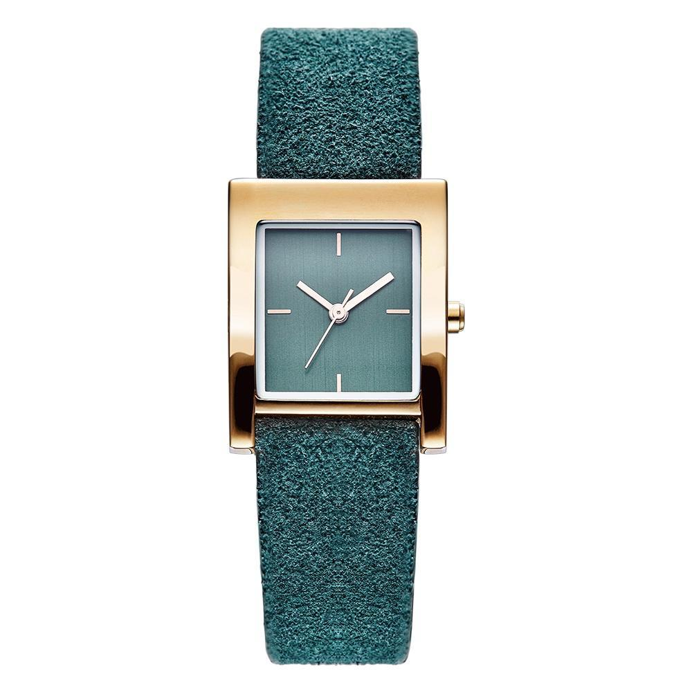 SQUARE LEATHER WATCH WATCH - Zia Clothing Company