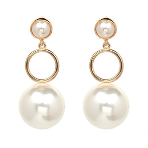 PEARL EARRINGS Accessories - Zia Clothing Company