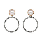 NEW HOT ROUND EARRINGS Accessories - Zia Clothing Company