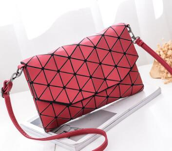 GEOMETRIC CASUAL CLUTCH BAG Bag - Zia Clothing Company