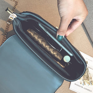 FASHIONABLE CONTRAST COLORS SHOULDER BAG Bag - Zia Clothing Company