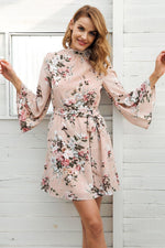 CASUAL FLORAL BEACH CHIFFON DRESS Dress - Zia Clothing Company