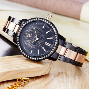 CRYSTAL LUXURY WATCH WATCH - Zia Clothing Company