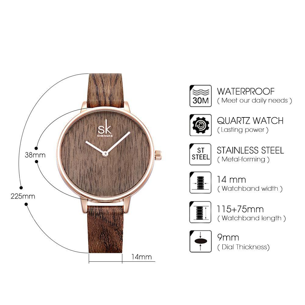 CASUAL WOOD WATCH WATCH - Zia Clothing Company