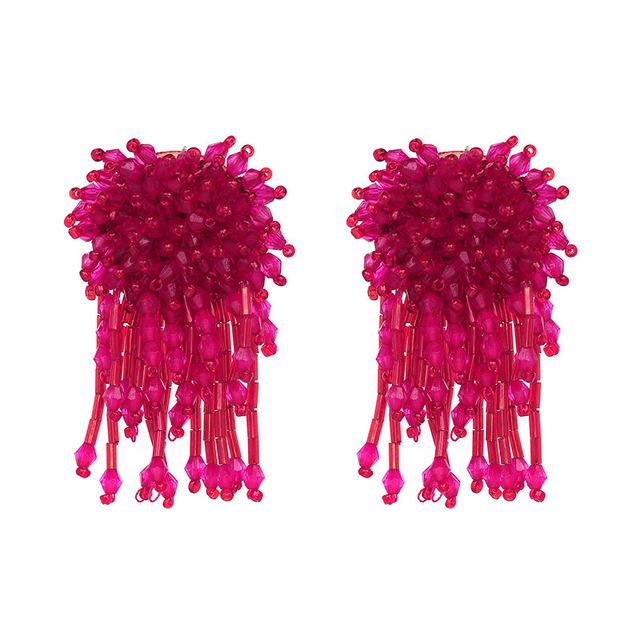 BRINCOS CRYSTAL EARRINGS Accessories - Zia Clothing Company