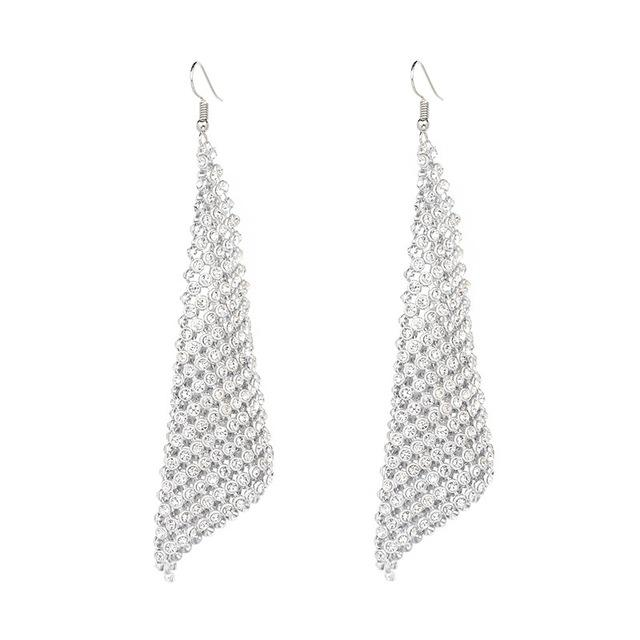 DISCO SHINY EARRINGS Accessories - Zia Clothing Company
