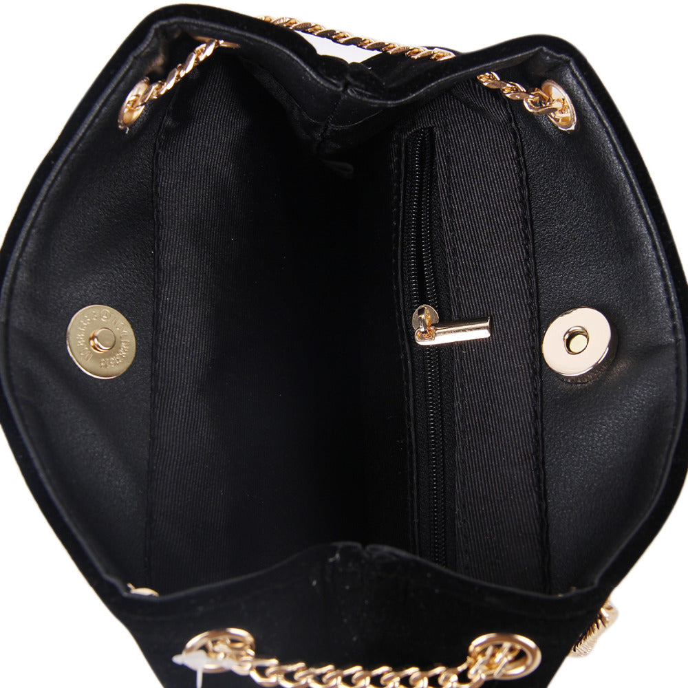 EMBROIDERY DIAMOND VELVET ELEGANT HANDBAG Bag - Zia Clothing Company
