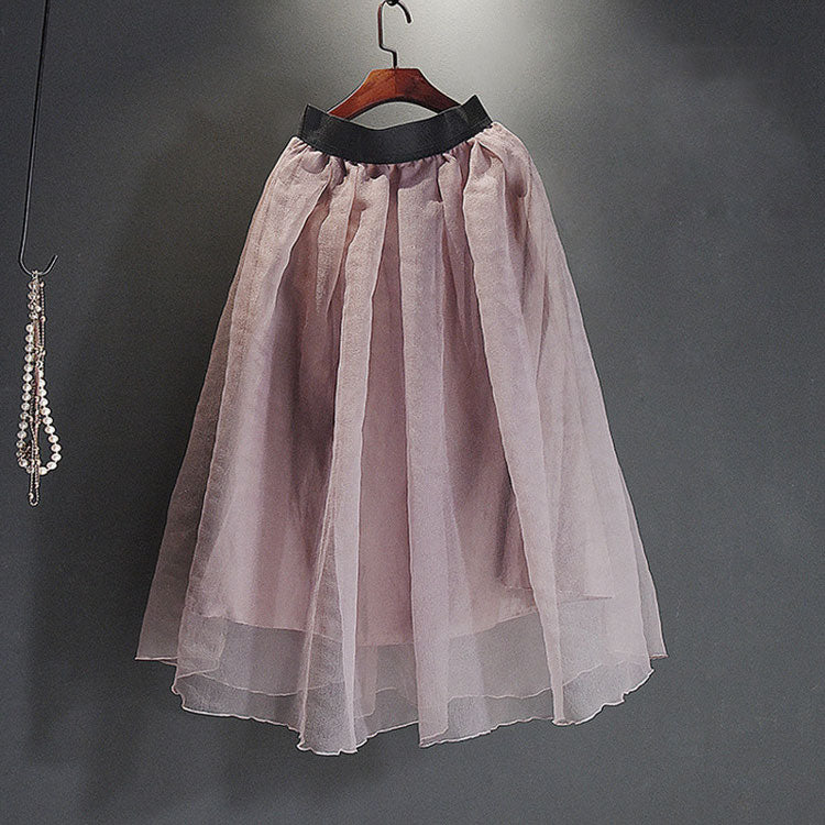 ROMANTIC PLEATED MIDI SKIRT Skirt - Zia Clothing Company