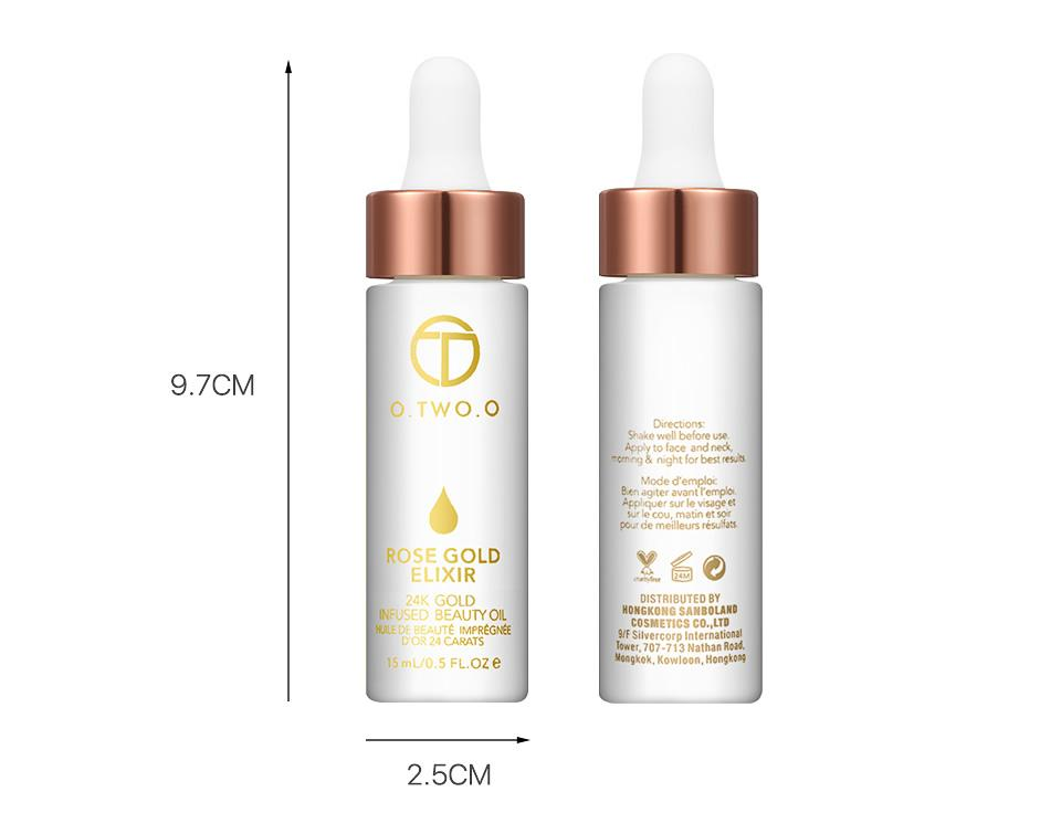 24K ROSE GOLD ELIXIR & ESSENTIAL OIL MAKEUP - Zia Clothing Company