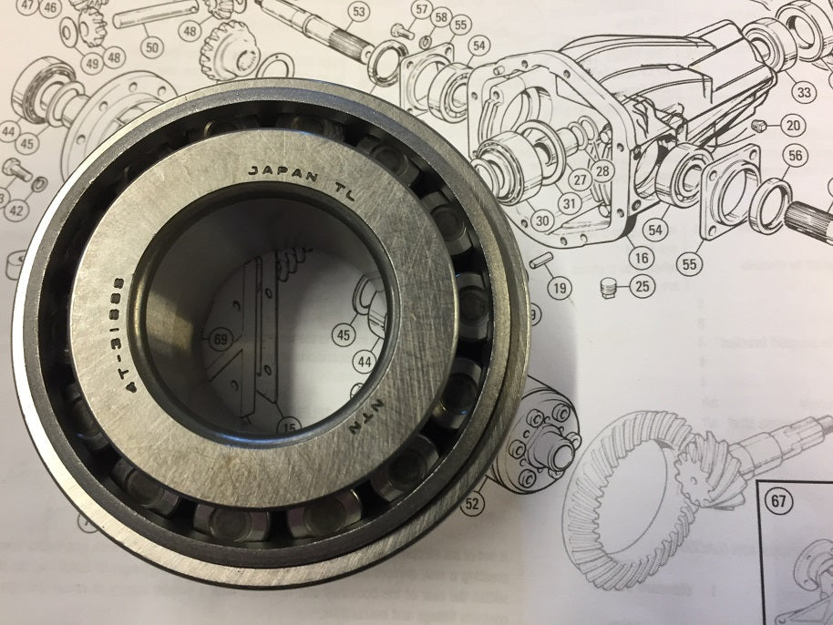 TR2-6 DIFF PINION BEARING