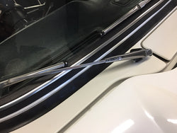 TR4-5 R/H STAINLESS STEEL WIPER ARM