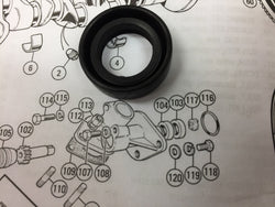 DISTRIBUTOR PEDESTAL SEAL FOR INJECTION MODELS