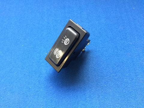 LATE TR6 ROCKER LIGHT SWITCH