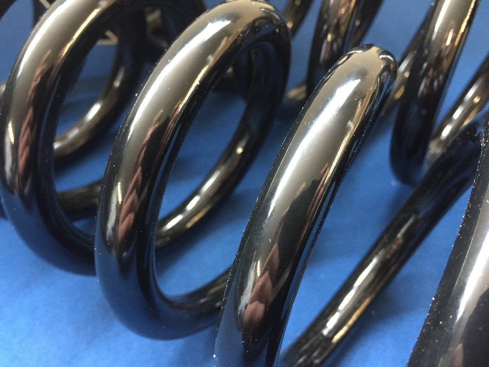 TR4A-6 SILICONE CHROME FRONT SPRINGS (NEW STOCK)