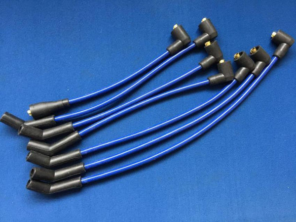 6 CYLINDER SILICONE HT LEAD SET IN BLUE (SALE ITEM!!!!!!)