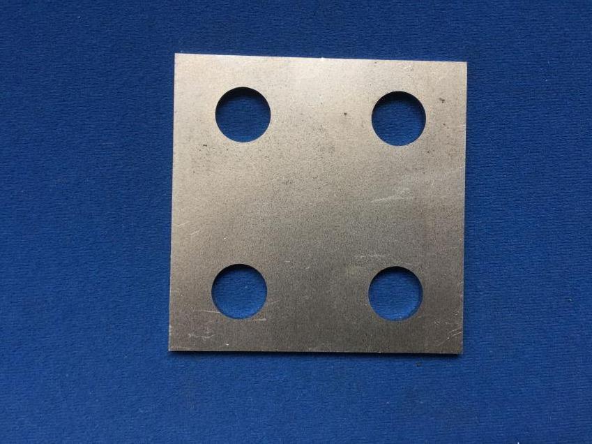 BODY MOUNTING PLATES (SQUARE)