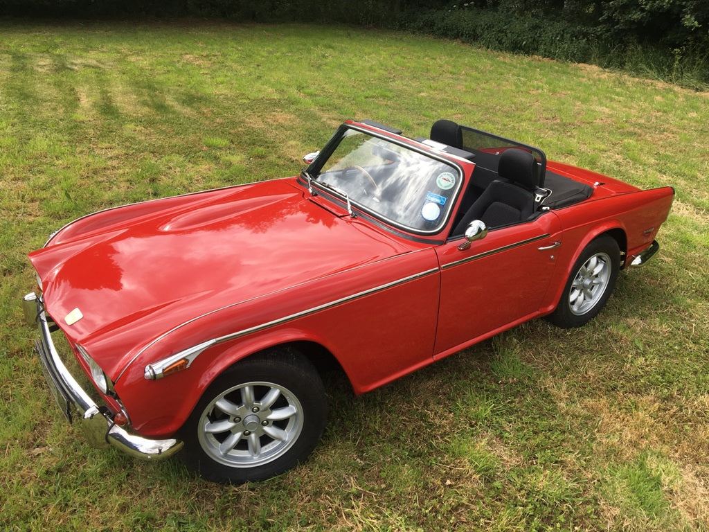 TR6 1971 GENUINE 150 BHP CAR WITH OVERDRIVE. BARN FIND!