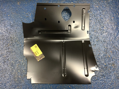TR5 TR6 O/S TOE BOARD / FOOT WELL FRONT PANEL