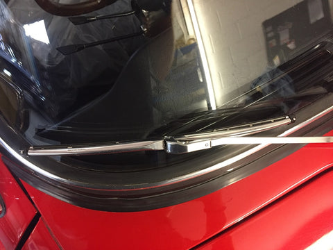 TR6 CP STAINLESS STEEL WIPER BLADE