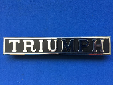 TRIUMPH BOOT BADGE HERALD 13/60 & VITESSE
