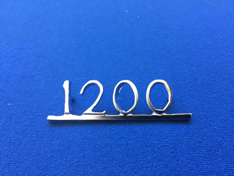 "HERALD ""1200"" BOOT BADGE"