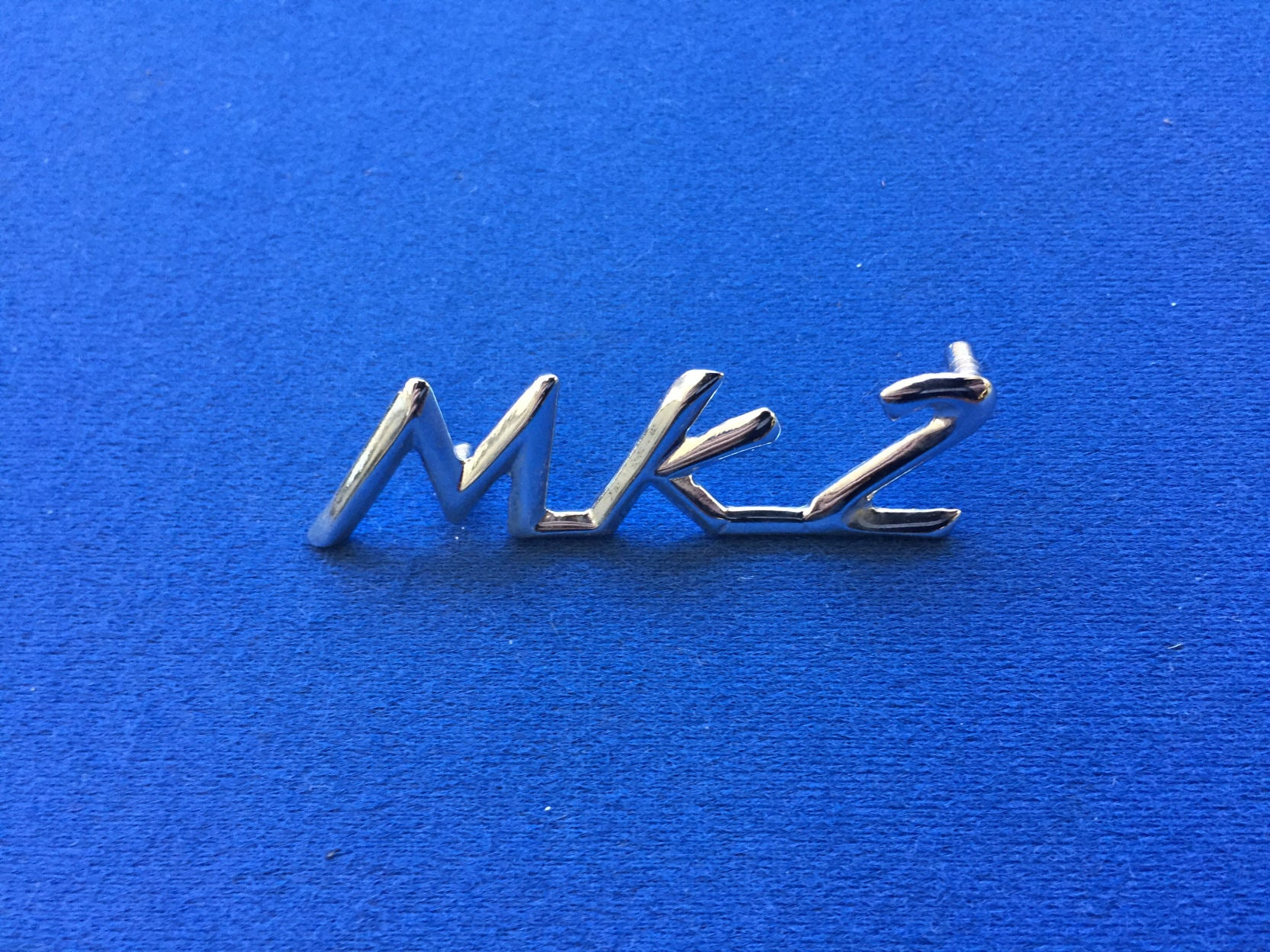 TRIUMPH SPITFIRE MK2 SCROLL BOOT BADGE