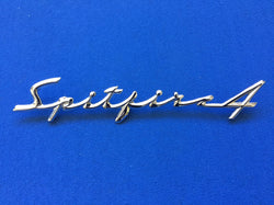 TRIUMPH SPITFIRE MK1 REAR SCROLL BADGE