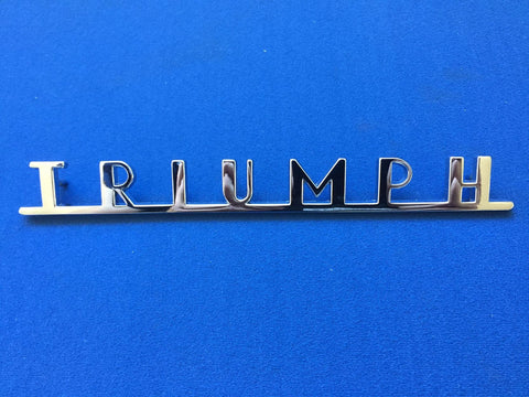 TR3/3A REAR PANEL BADGE