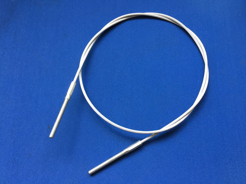 TRIUMPH GT6 MK2/3 HAND BRAKE CABLE: ROTO-FLEX MODELS