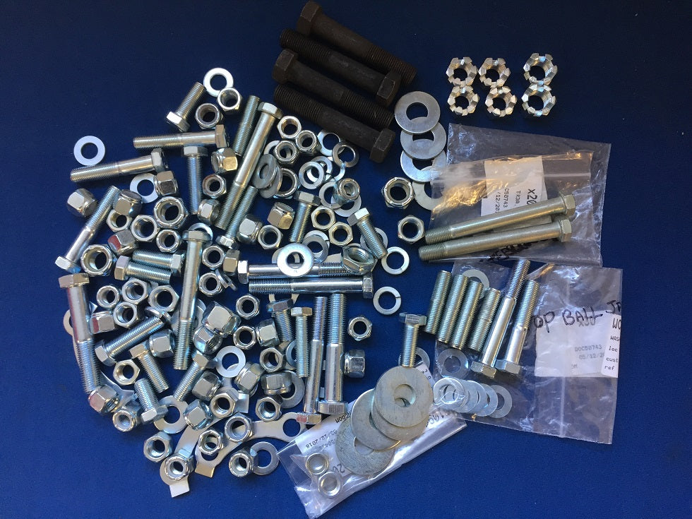 TR4A TR5 TR6 FRONT SUSPENSION NUT AND BOLT KIT