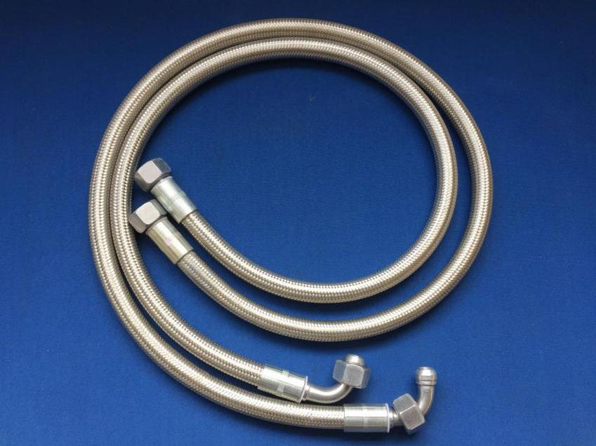 STAINLESS STEEL BRAIDED OIL COOLER PIPES