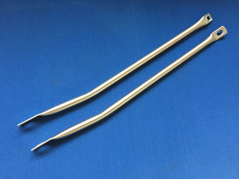 TR5/6 VALANCE STAINLESS STEEL STAY RODS