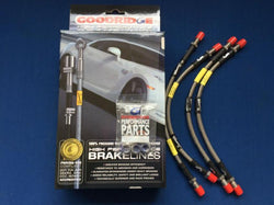 VITESSE & GT6 STAINLESS STEEL BRAIDED BRAKE HOSE SET (ROTO-FLEX)
