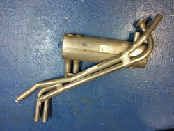 TR250 TR6 CC STANDARD STAINLESS STEEL EXHAUST SYSTEM
