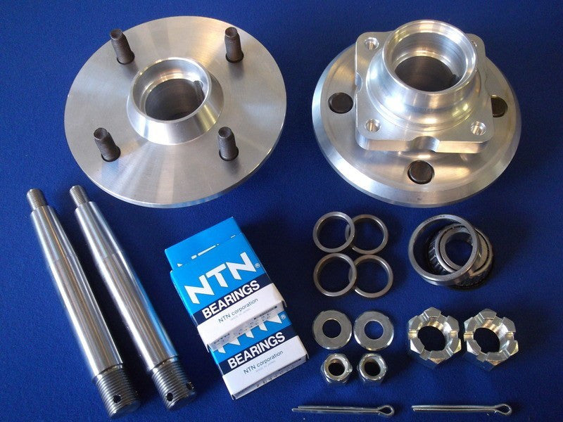 ALLOY FRONT HUB KIT