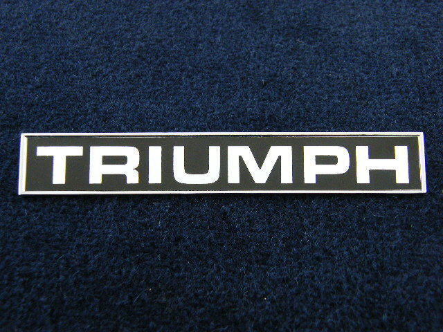 BOOT BADGE TR6 TRIUMPH""""