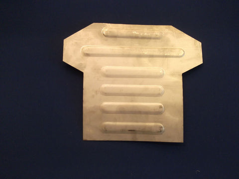 CHASSIS BREAST PLATE LOWER TR4A-6