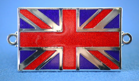 ENAMEL UNION JACK BADGES
