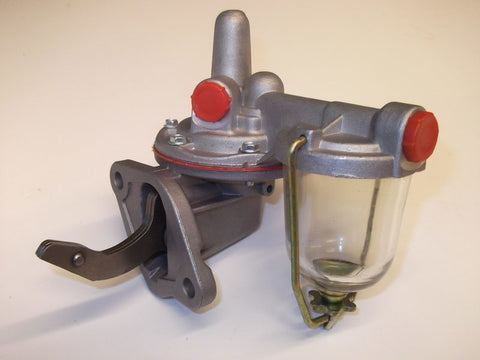 FUEL PUMP WITH GLASS BOWL TR2-4A
