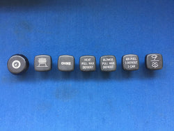 TR6 CF (USA) DASH KNOB SET