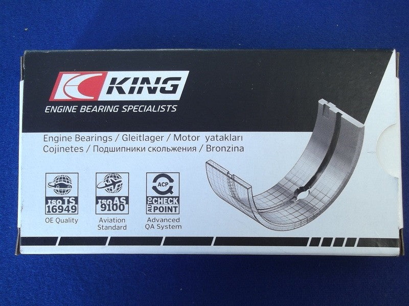 H/Q TRI METAL BIG END BEARINGS 6 CYL TR (+ 0.010)""