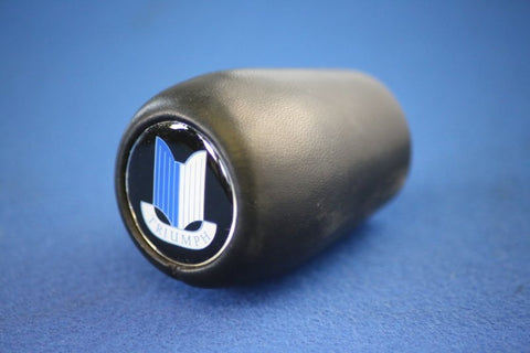 LEATHER GEARKNOB WITH SHIELD LOGO